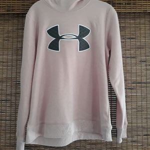Under Armour  Womens Pink Hoodie - M